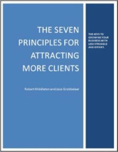 7 Principles Attracting More Clients